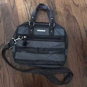 Juicy Couture cross body brief case/laptop bag